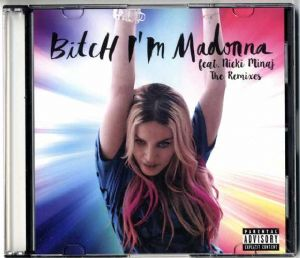 BITCH I'M MADONNA - USA 10 TRACK OFFICIAL PROMO CD